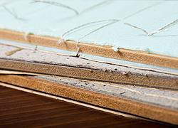 土台は木質素材だから安心